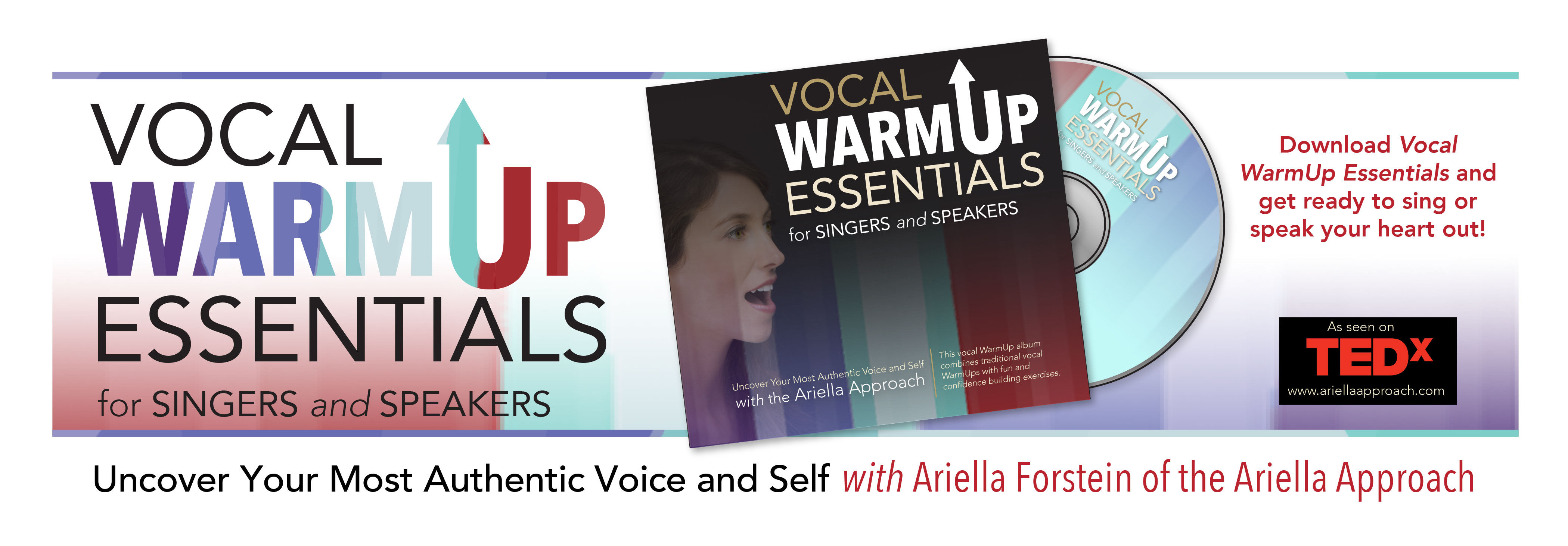 Ariella Vocal Warm Up Essentials CD